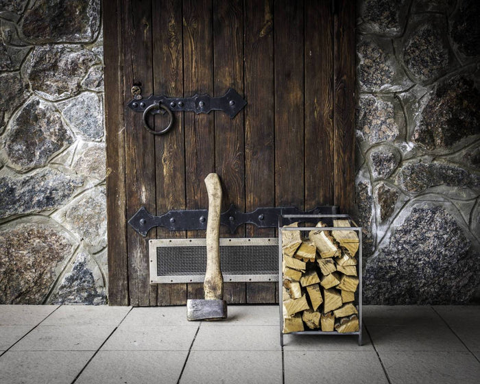 Small square Firewood Holder