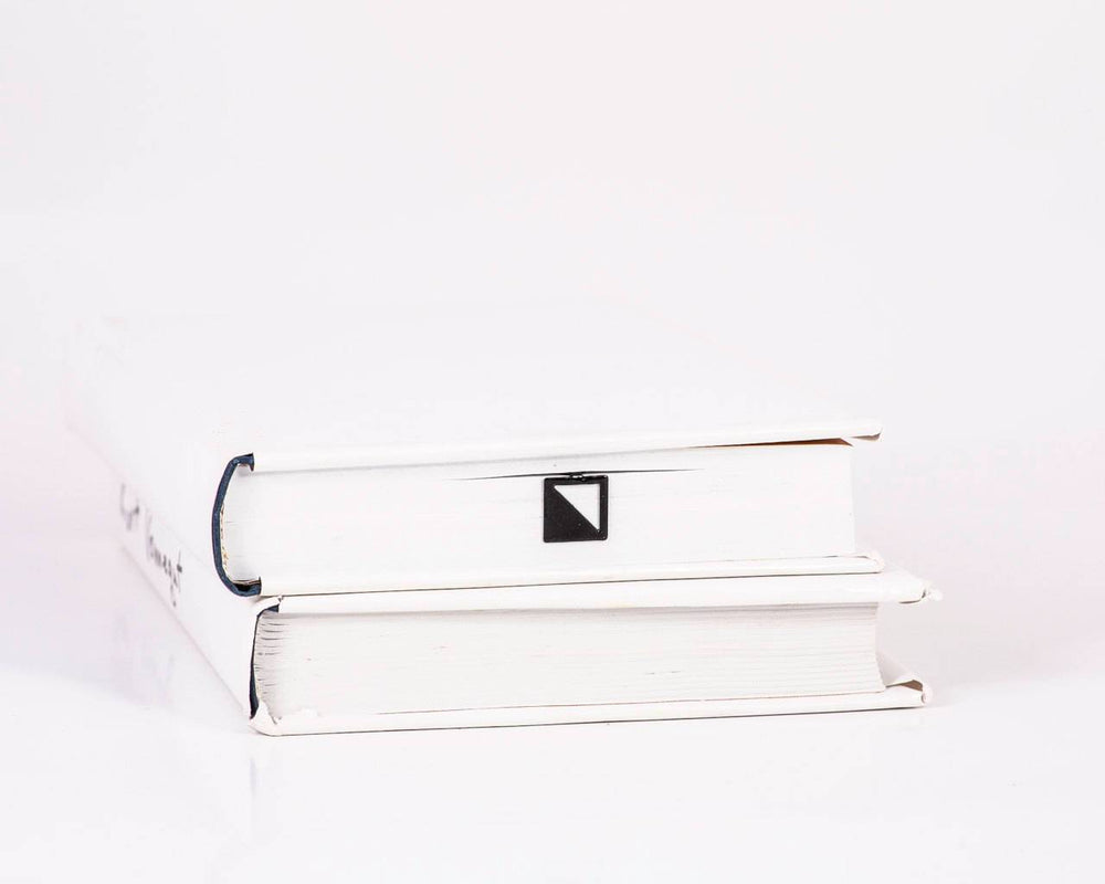 Metal Book Bookmark Half square by Atelier Article - Design Atelier Article
