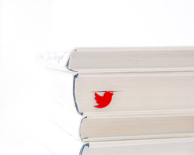 Metal Book Bookmark Red Bird by Atelier Article - Design Atelier Article