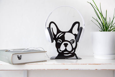 One Decorative  bookend // French bulldog // Functional modern decor for dog lover // FREE SHIPPING // perfect housewarming gift // - Design Atelier Article