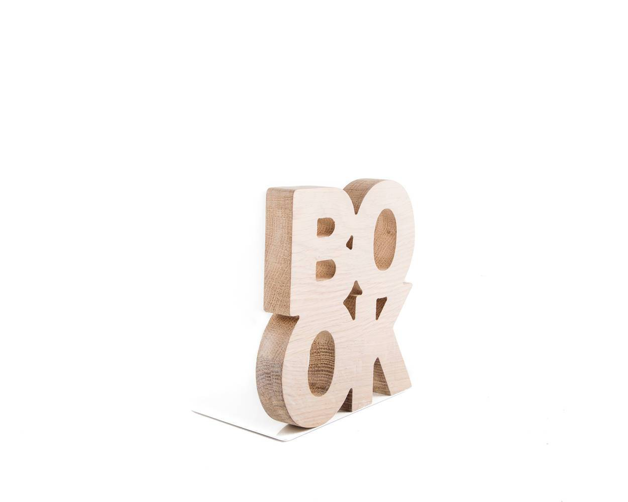 decorative wooden bookends