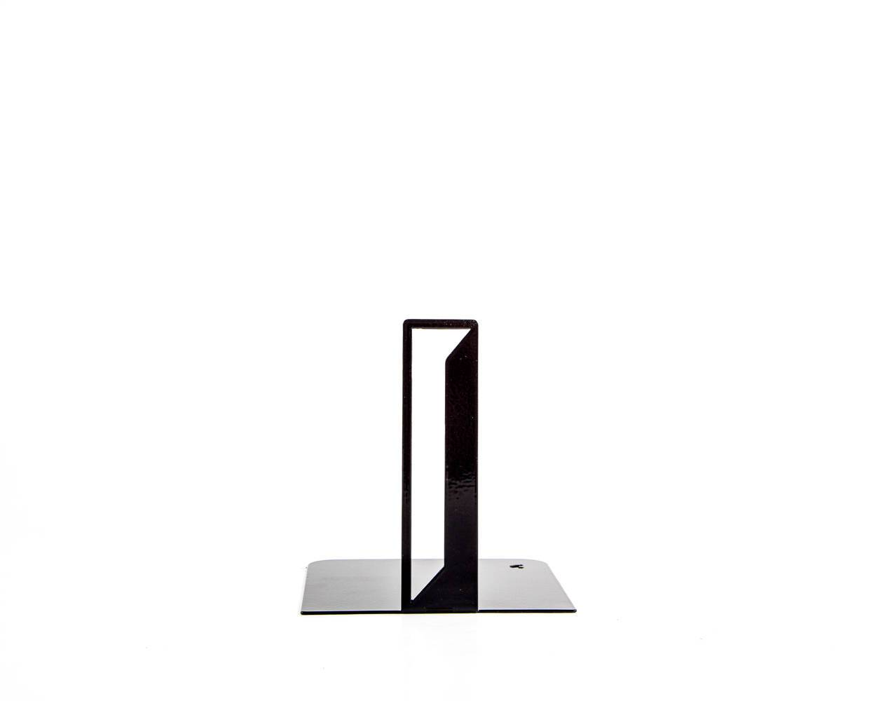 One metal bookend I -Letters are beautiful- alphabet series use to spell initials // secret message/anything meaningful to you/free shipping