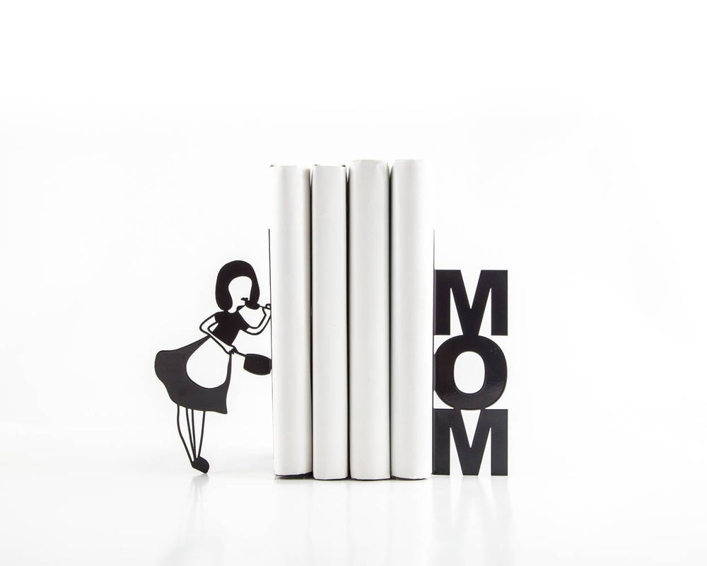 Metal Kitchen bookends // Mom Cooks by Article