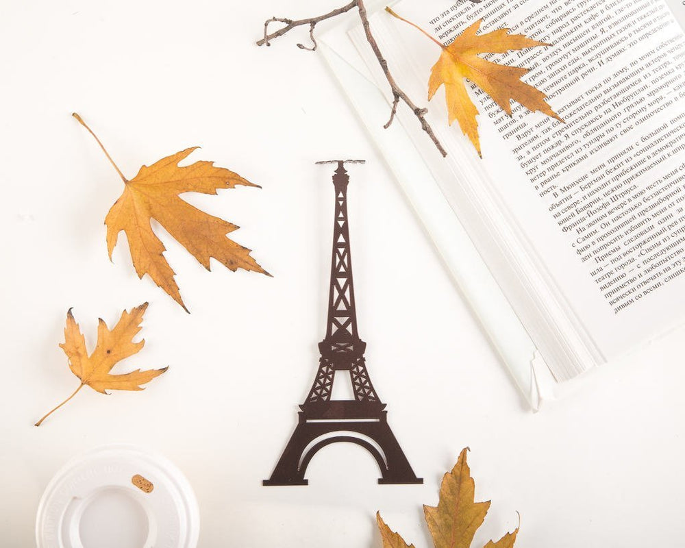 Metal Bookmark for Books Eiffel tower by Atelier Article - Design Atelier Article