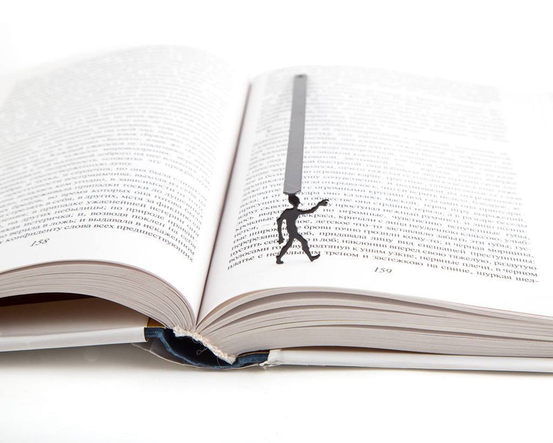 Metal Book Bookmark Zombies are coming by Atelier Article - Design Atelier Article
