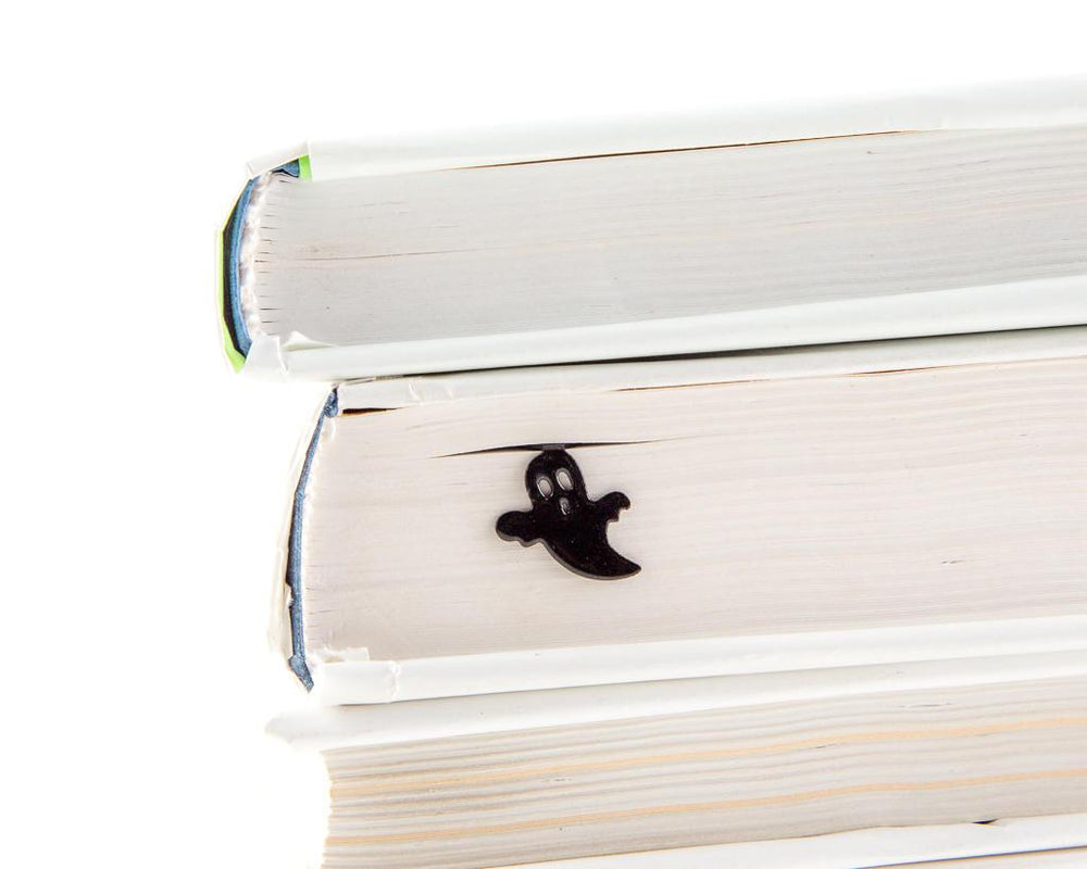 Metal Book Bookmark Ghost in the book by Atelier Article - Design Atelier Article