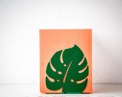 Bookends Monstera // Botanica series of bookends by Atelier Article - Design Atelier Article