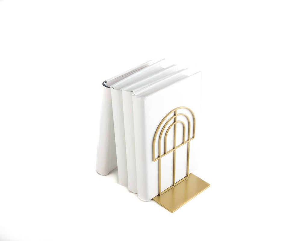 Metal Bookends Arch by Atelier Article - Design Atelier Article