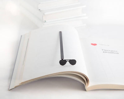 Metal Book Bookmark Police sunglasses by Atelier Article - Design Atelier Article