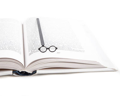 Metal Bookmark for books Architect's glasses by Atelier Article - Design Atelier Article