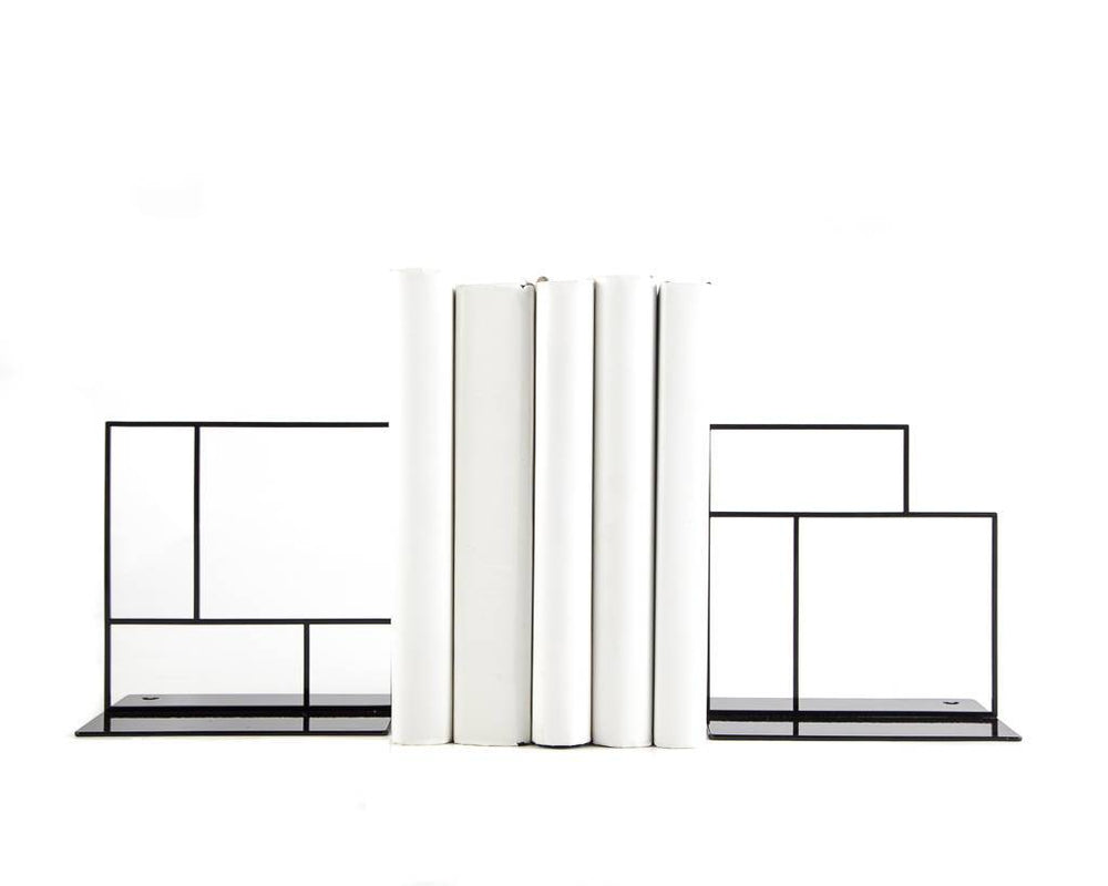 Metal Bookends Rectangulars by Atelier Article - Design Atelier Article