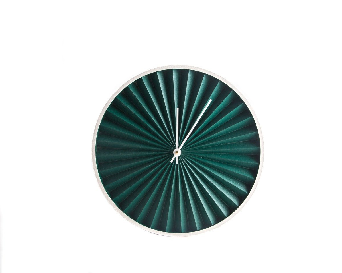 Night watch Wall Clock Harmonica Modern, Geometric Style for a Minimalist but Colorful Home