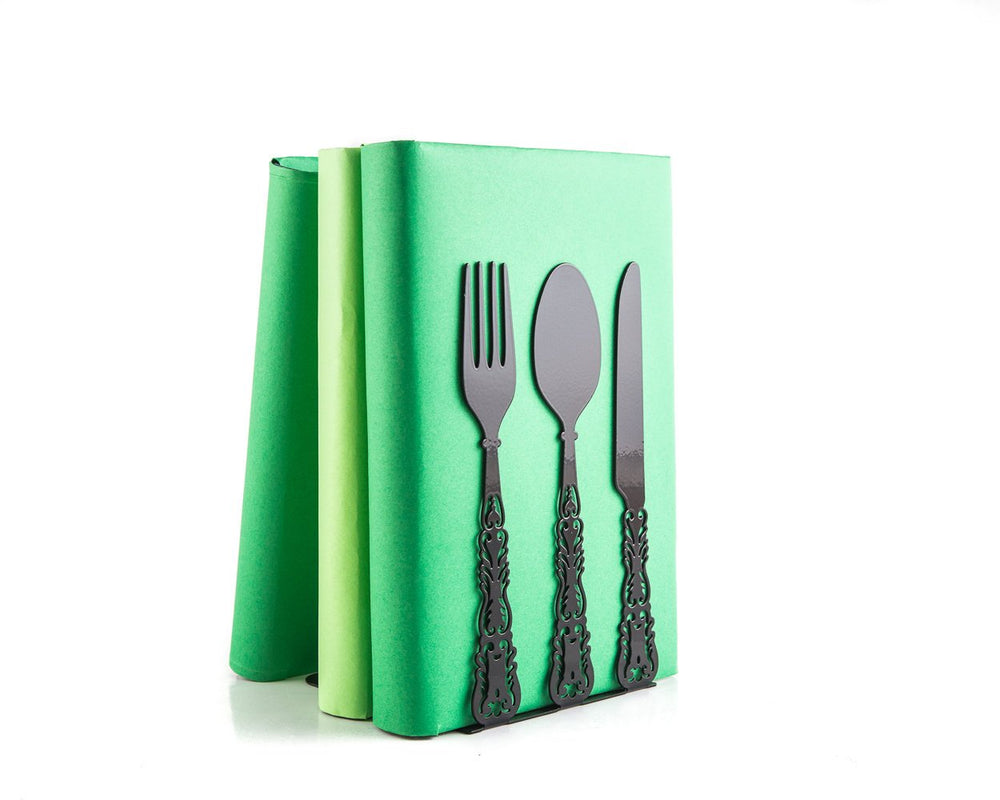 Kitchen decor // Metal Kitchen bookends by Atelier Article - Design Atelier Article