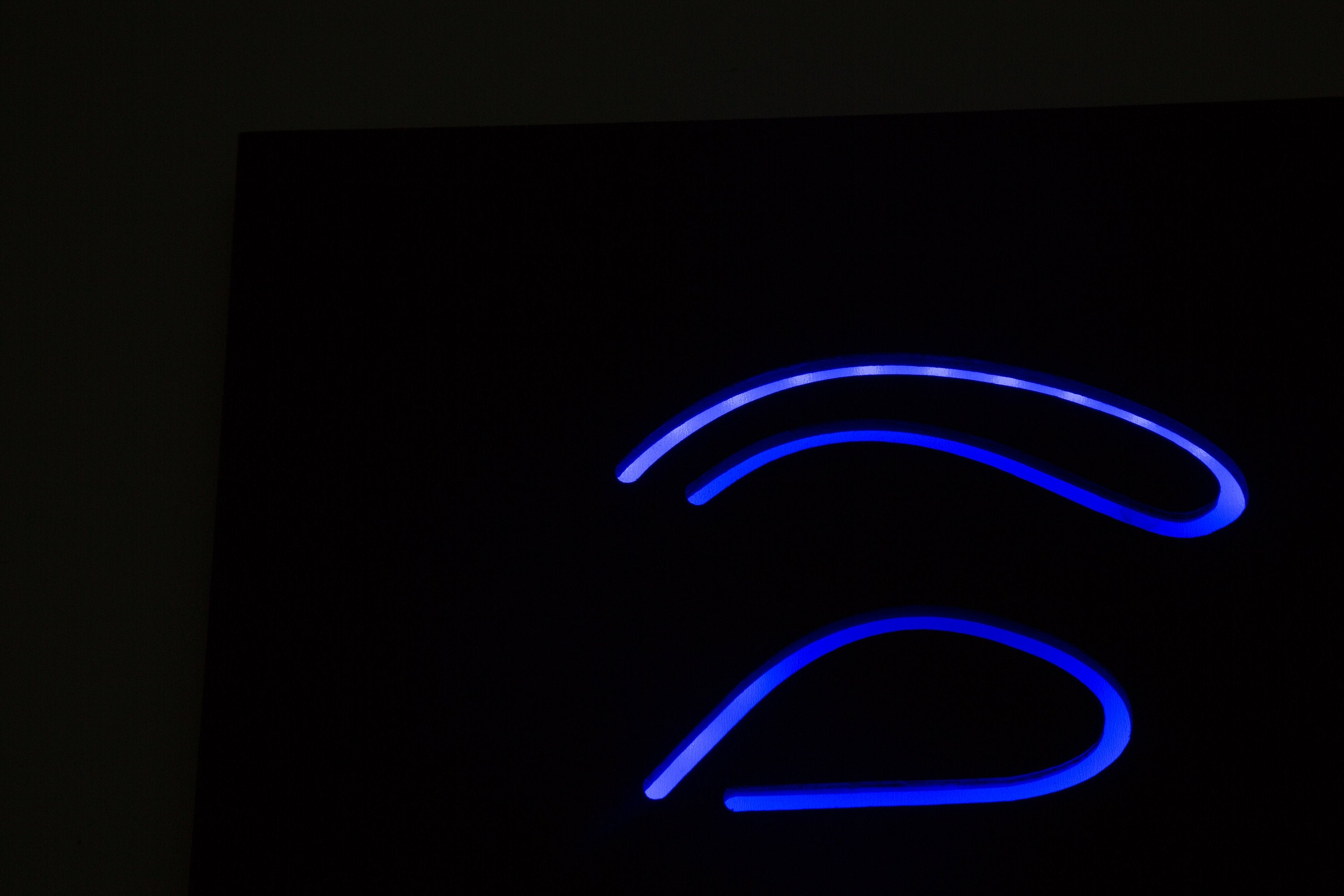 Man cave Wall Light Neon Sign style Anonymous LED technology - Design Atelier Article