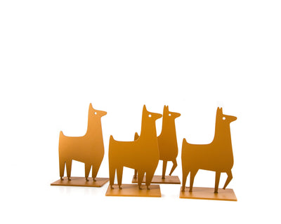 Metal Bookends Lamas by Atelier Article // FREE  SHIPPING - Design Atelier Article