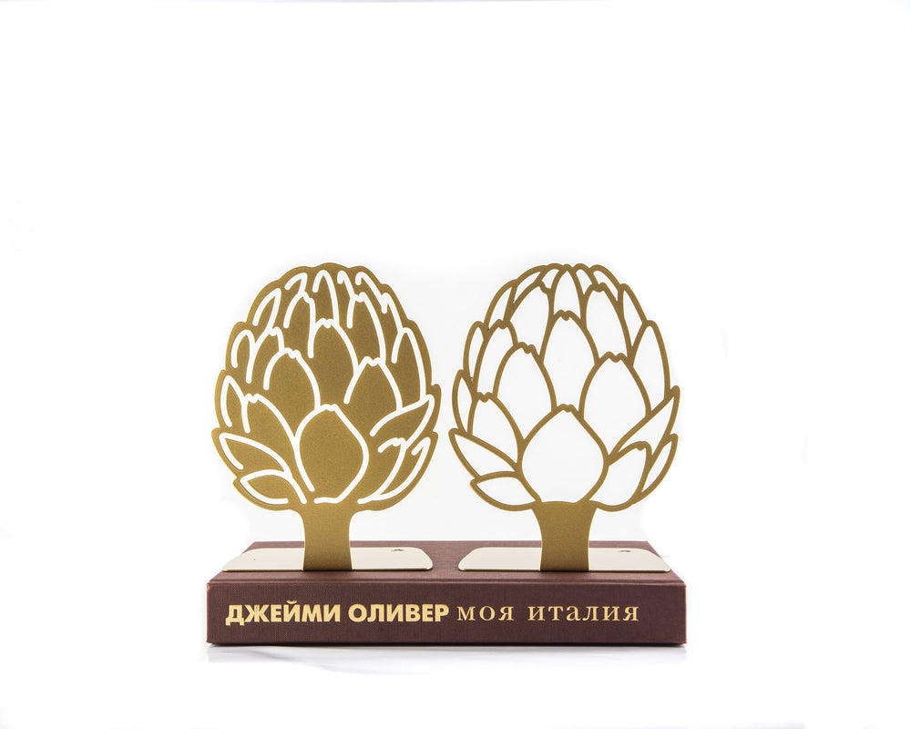 Kitchen bookends // Artichoke Golden edition by Article