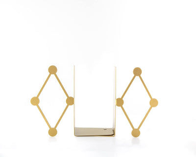 Modern Circus Diamond bookends by Article
