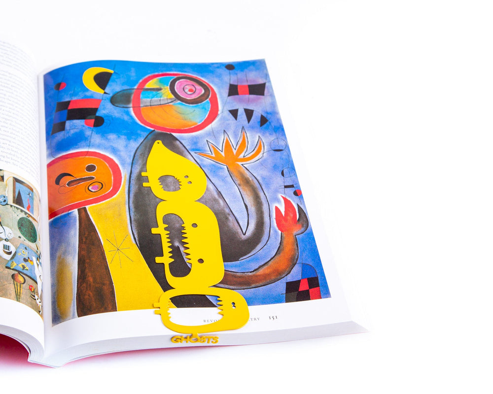 2d4af06682d4 Metal book bookmark Three Screaming Monsters // Unique gift for a bookworm  // Free shipping worldwide