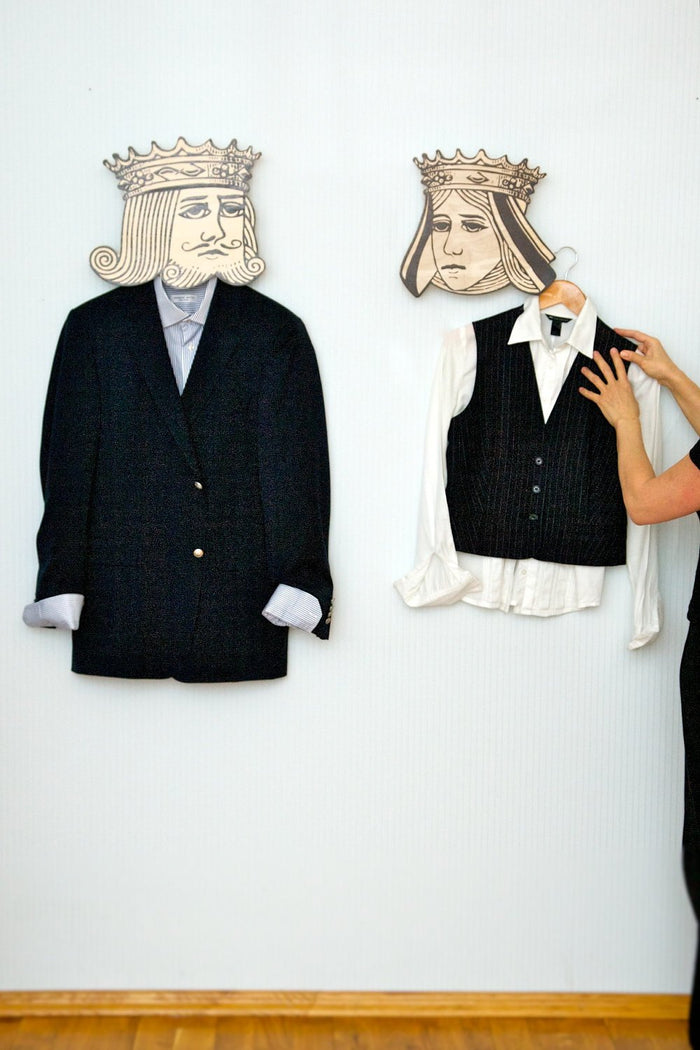 Hook - hanger - mask - You are my Queen - humorous and funky article for your creative home or office - Design Atelier Article