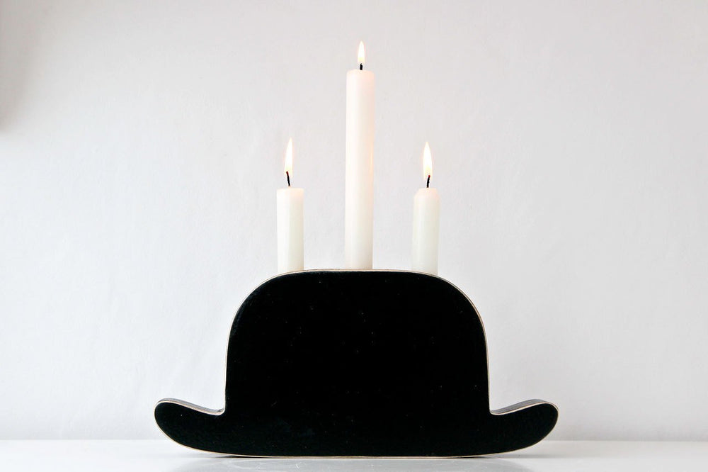 Candle holder Light My Bowler by Atelier Article - Design Atelier Article
