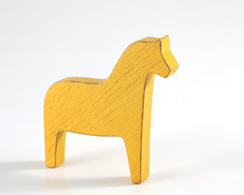 Scandinavian Dala horse wooden decor for Christmas // stocking stuffer
