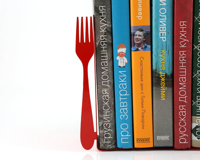 Kitchen Bookends for Cookbooks Fork and Spoon by Atelier Article - Design Atelier Article