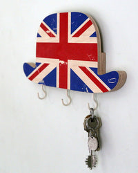 Key mail holder Wall Organizer Bowler Hat Great Britain by Article - Design Atelier Article