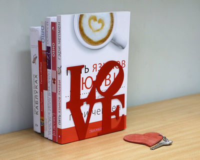 Metal Bookends LoveOne by Atelier Article - Design Atelier Article