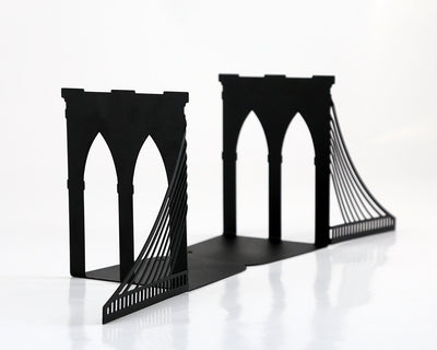 Metal bookends Brooklyn bridge by Atelier Article - Design Atelier Article