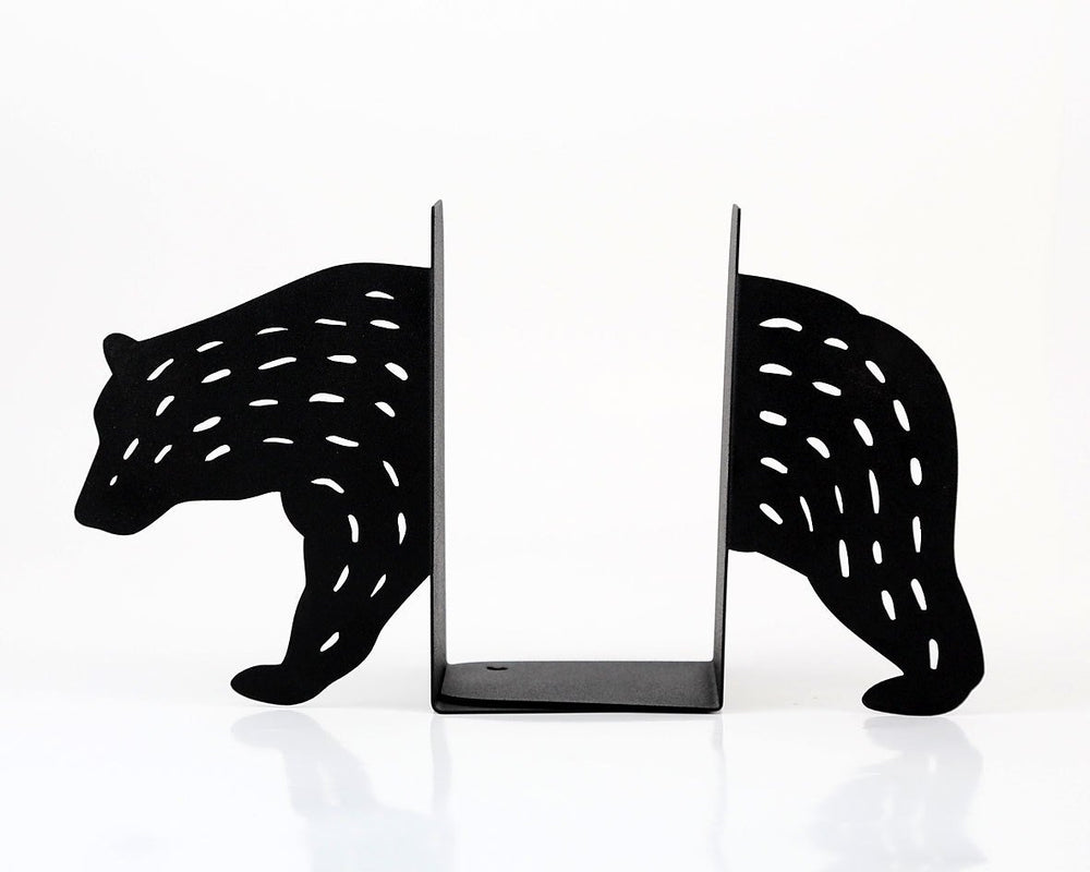 Metal Bookends - Bear- by Article