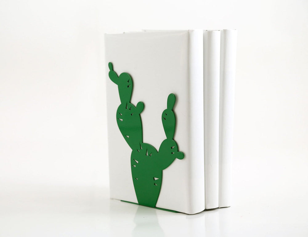A bookend Cactus Twin // candle holder // unique design book holder // housewarming present // FREE SHIPPING WORLDWIDE - Design Atelier Article
