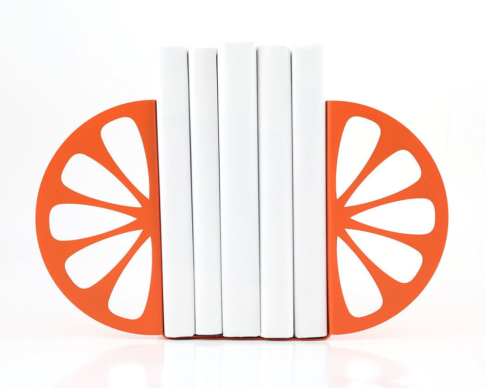 Metal Kitchen Bookends  Orange // functional modern kitchen decor // housewarming present // Christmas gift // FREE SHIPPING WORLDWIDE // - Design Atelier Article