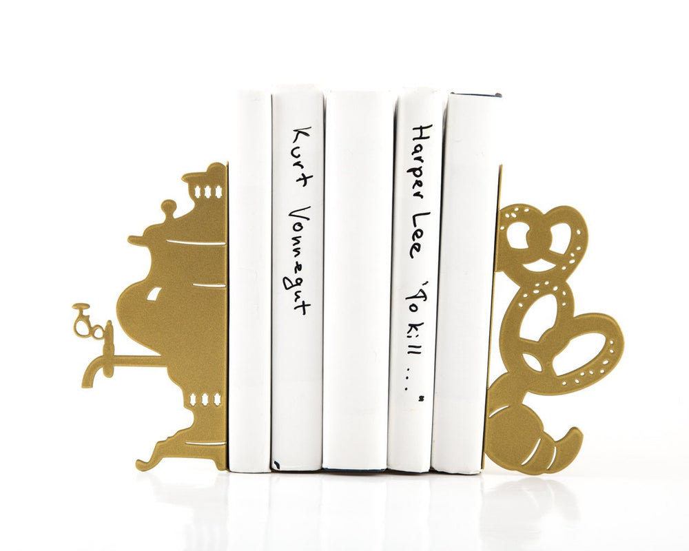Bookends Samovar Functional Shelf Decor for your kitchen