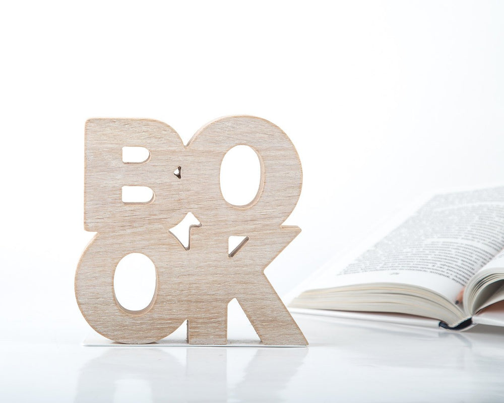 A pair of bookends Book