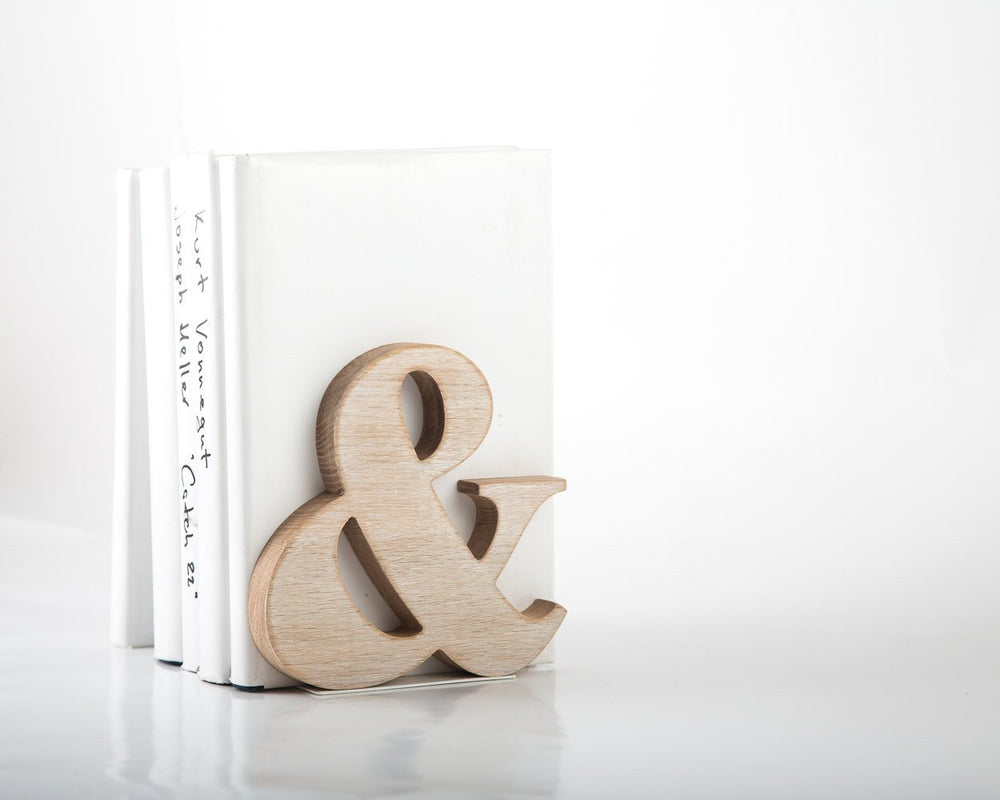 ampersand bookends