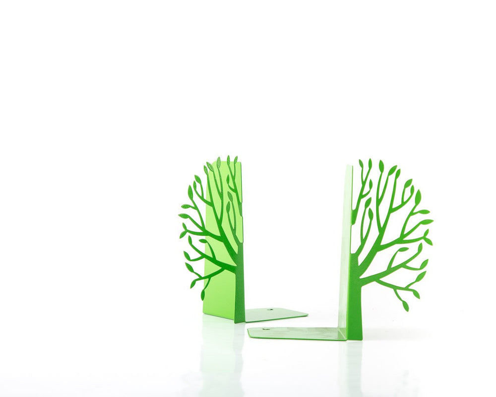 Metal bookends Green Spring by Atelier Article - Design Atelier Article