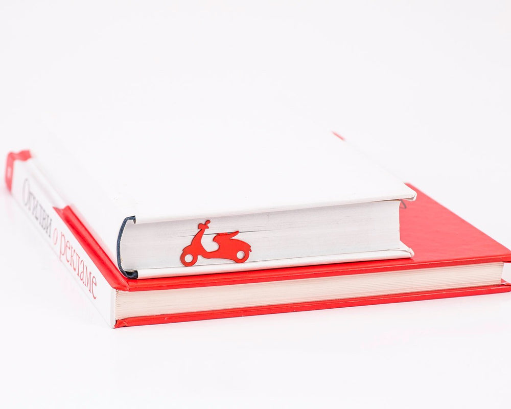 Metal Bookmark for Books Scooter by Atelier Article - Design Atelier Article
