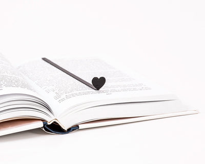 Metal Book Bookmark HEART by Atelier Article - Design Atelier Article