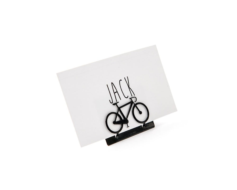 Bicycle Metal Place card holder for your wedding or any theme party by Article