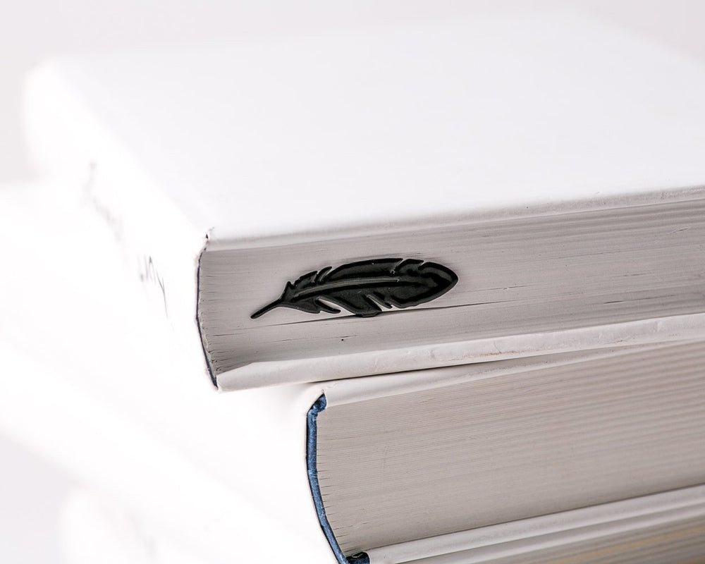 Metal Book Bookmark FEATHER by Atelier Article - Design Atelier Article