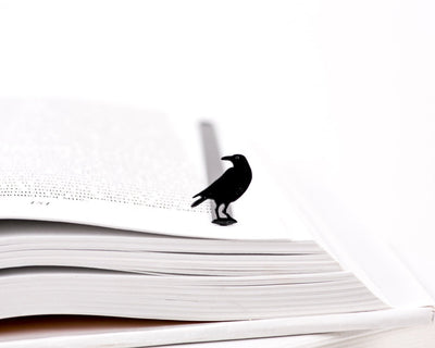 Metal Bookmark for books RAVEN by Atelier Article - Design Atelier Article