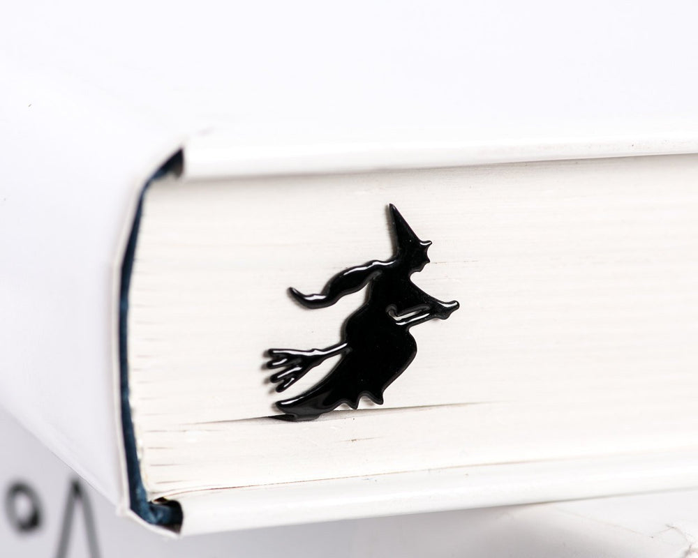 Metal Book Bookmark Flying Witch by Atelier Article - Design Atelier Article