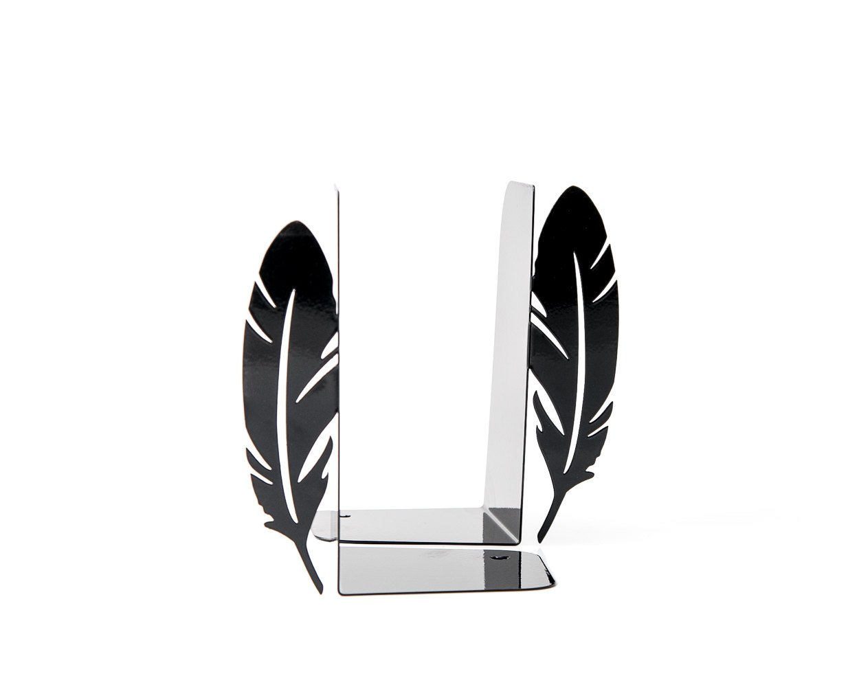 Metal Bookends Feathers // perfect functional trendy home decor for your book shelf // nursery decor // FREE WORLDWIDE SHIPPING //