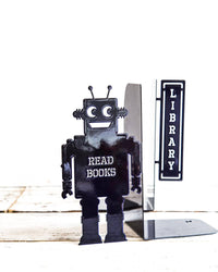 Nursery bookends // Robots read too II by Atelier Article - Design Atelier Article