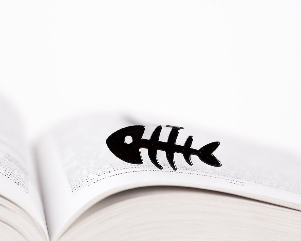 Metal Book Bookmark Fishbone by Atelier Article - Design Atelier Article