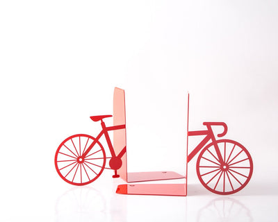 Metal Bookends Bicycle by Atelier Article