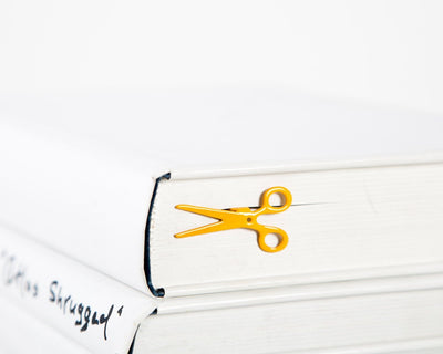 Metal Book Bookmark Scissors by Atelier Article - Design Atelier Article