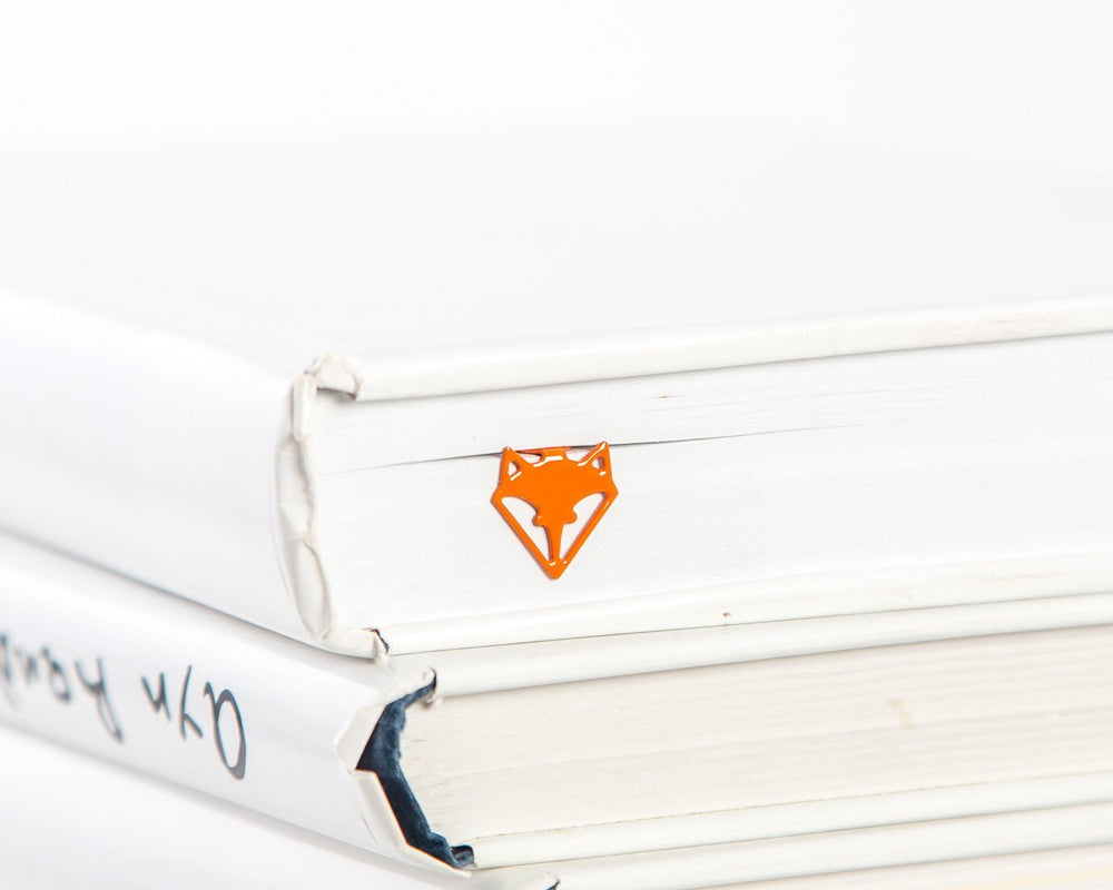 Metal Book Bookmark Fox Head by Atelier Article - Design Atelier Article