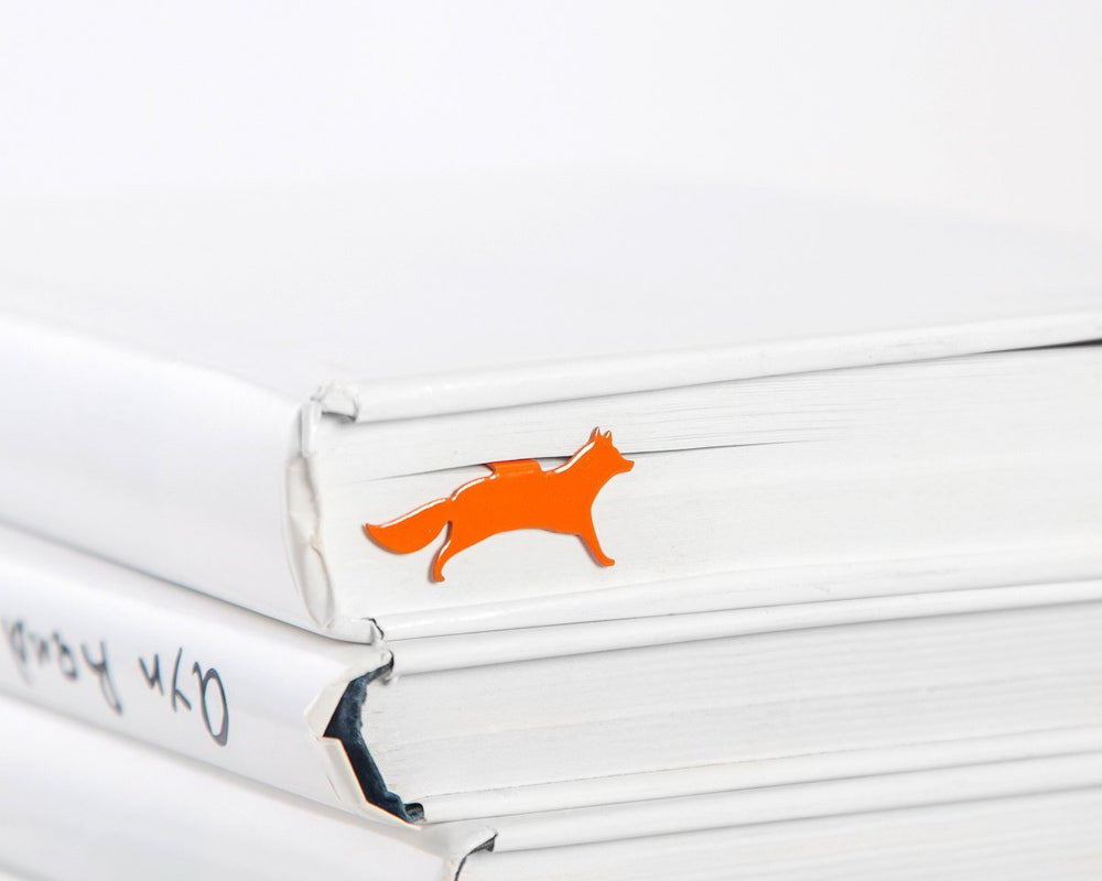 Metal Bookmark for books // Fox by Atelier Article