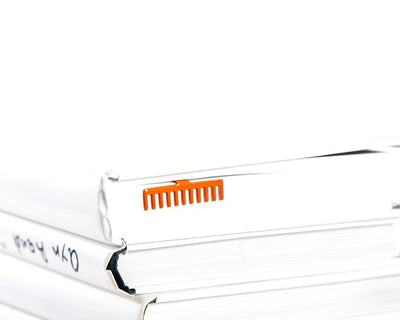 Metal Book Bookmark Orange Rake by Atelier Article - Design Atelier Article